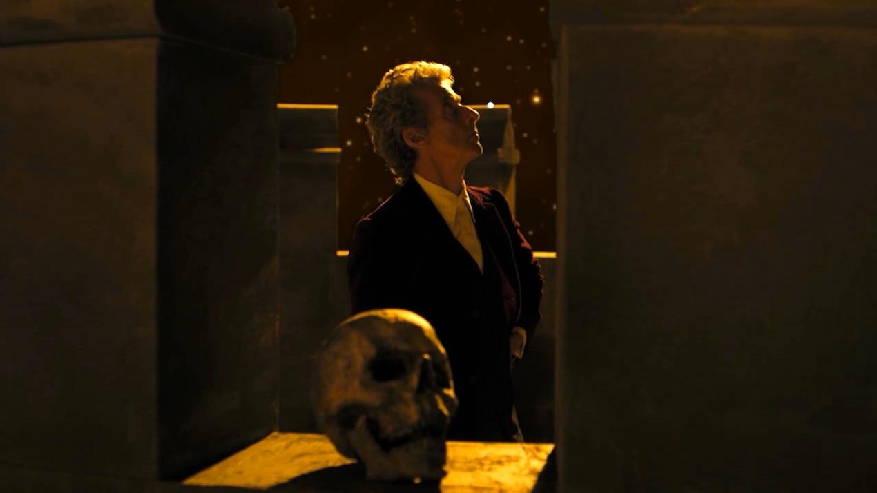 The Doctor (Peter Capaldi) in Heaven Sent