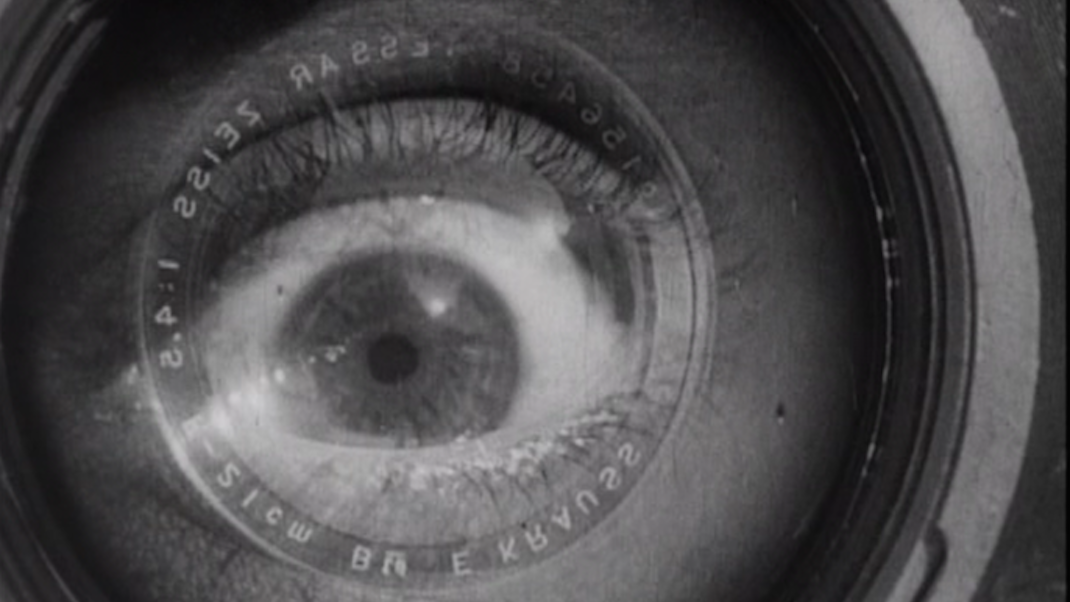 an essay on the film man with the movie camera This essay will prove that vertov's film, man with a movie camera (1929), in light with bazin's view, without any actors, script and an uninterrupted flow does reveal truth about the world man with a movie camera , is a unique film.