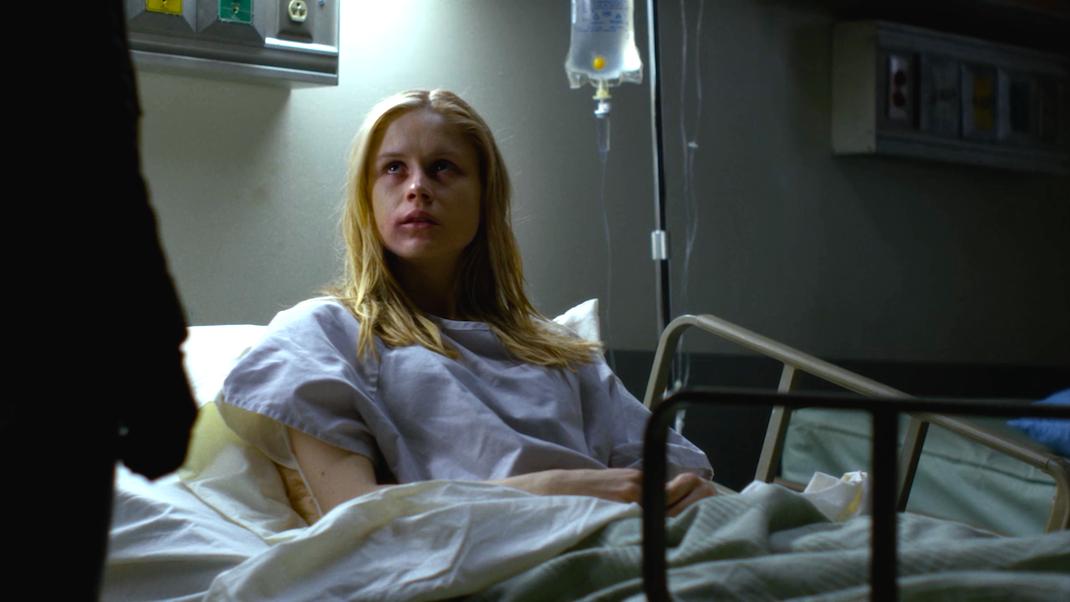 Hope (Erin Moriarty) in AKA You're a Winner