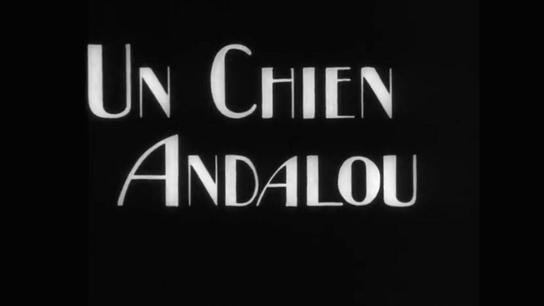UN CHIEN ANDALOU (Title Screen)