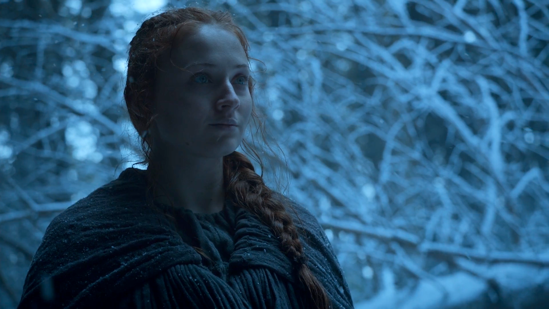 Sansa (Sophie Turner) in The Red Woman