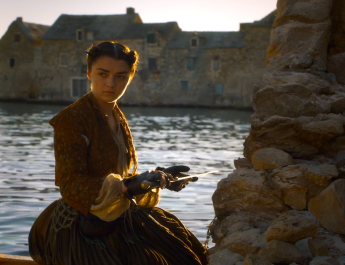 Arya (Maisie Williams) in Game of Thrones 6x06 - Blood of My Blood