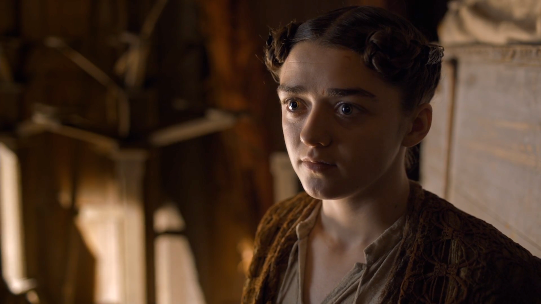 Arya Stark (Maisie Williams) in GOT 6x06