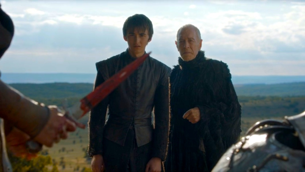 Bran and the Raven in GOT 603
