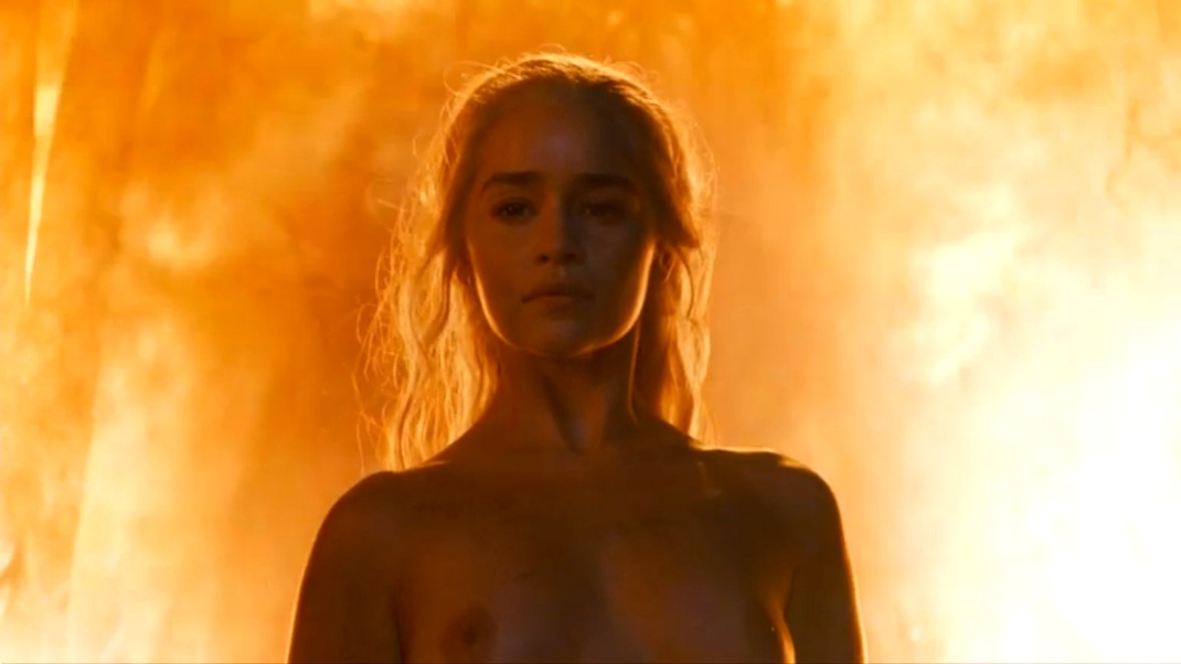 Daenerys (Emilia Clarke) in GOT 604