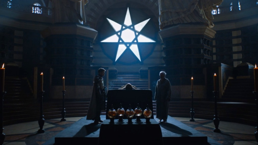 Jaime and the High Sparrow in GOT 602