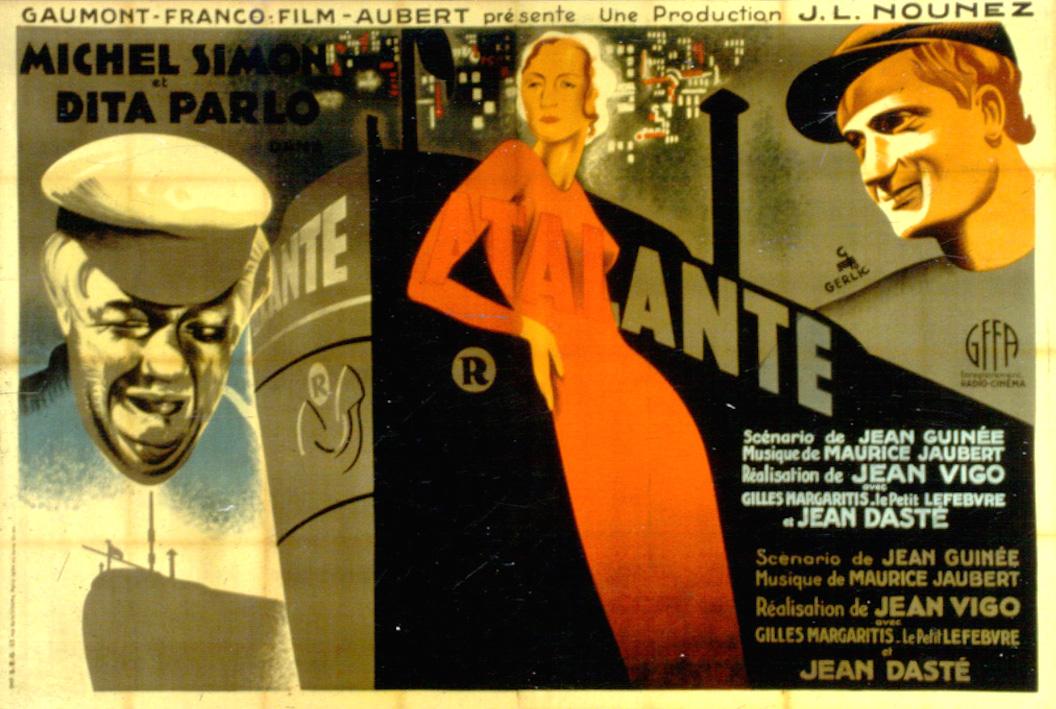 L'Atalante Movie Poster