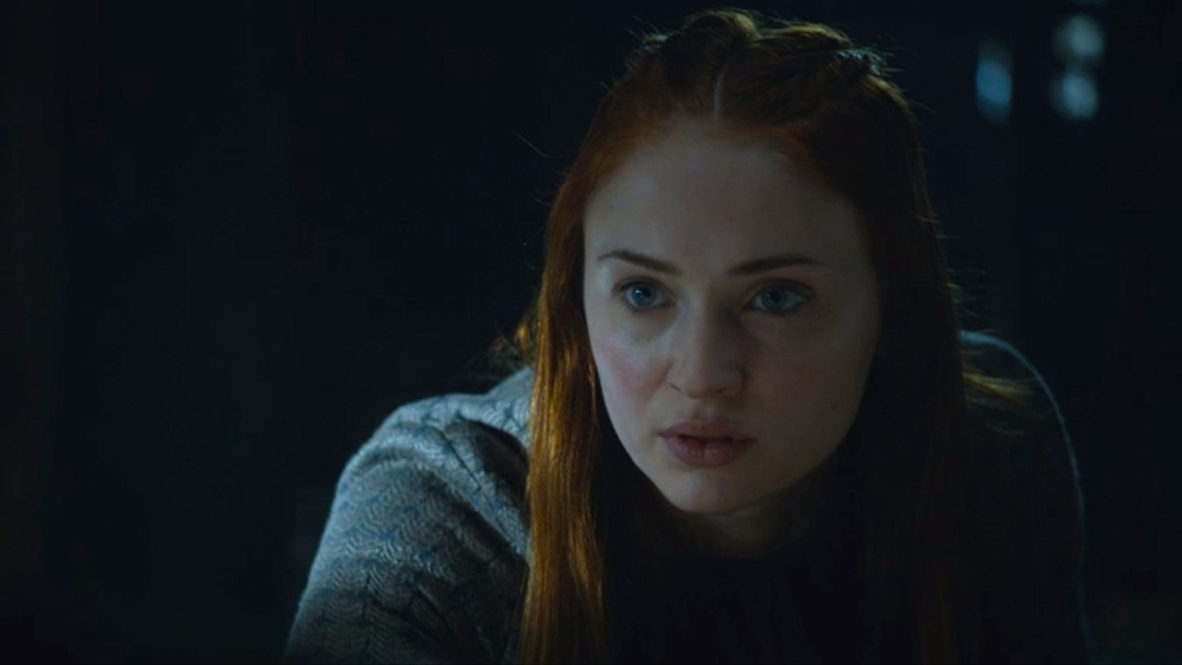 Sansa (Sophie Turner) in GOT 604