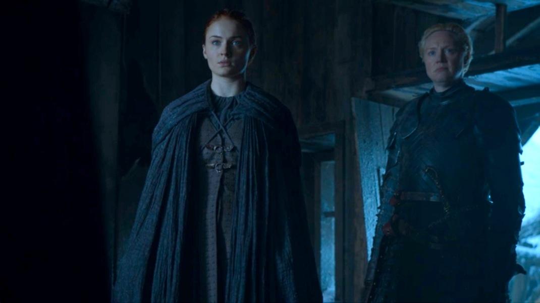 Sansa and Brienne in GOT 605