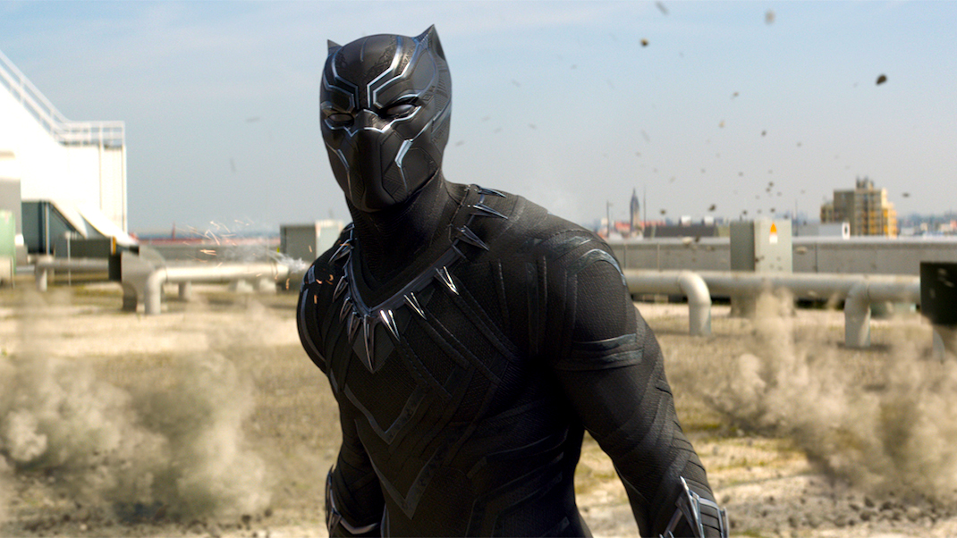 The Black Panther (Chadwick Boseman)
