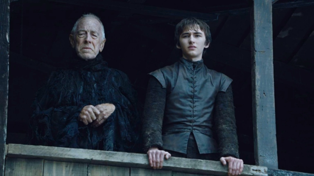 The Three-Eyed Raven and Bran in GOT 602