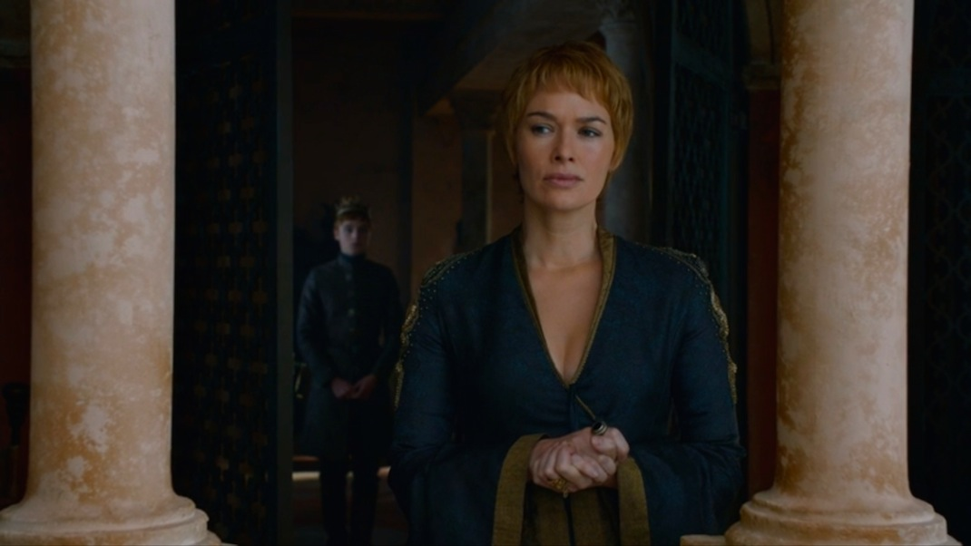 Tommen and Cersei in GOT 602