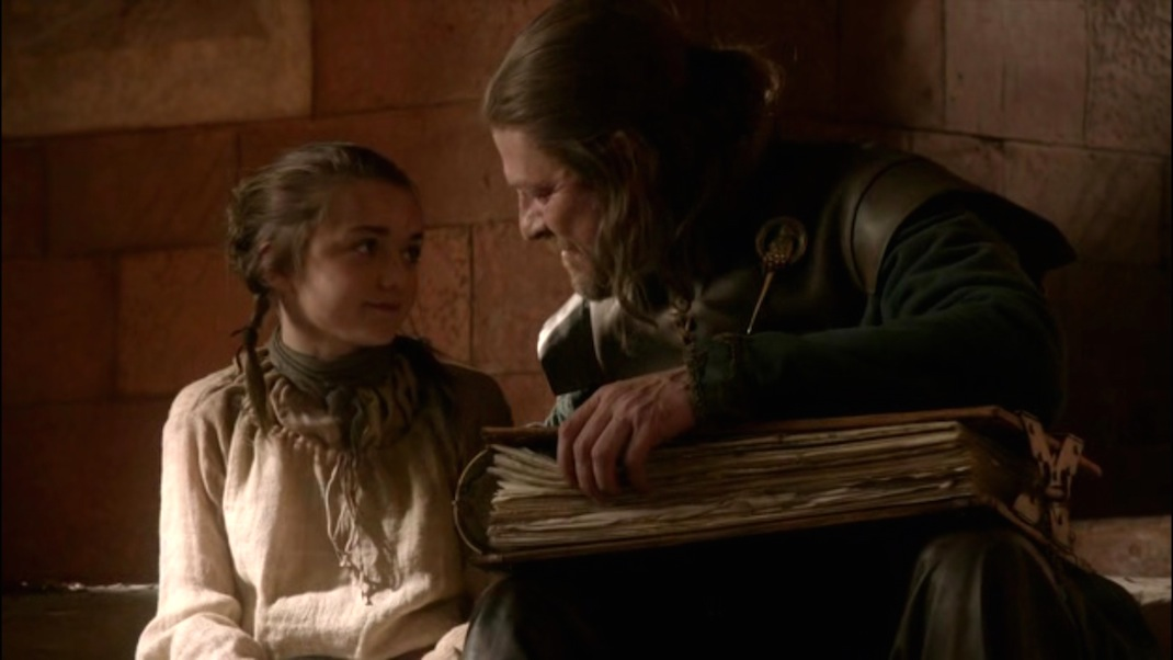 arya-and-ned-stark