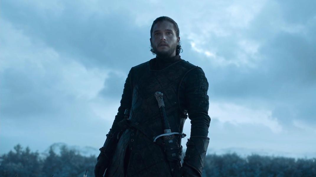 Jon Snow in GOT 6x09