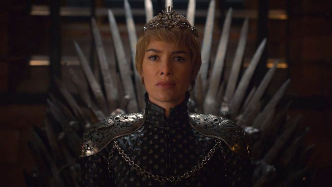 Queen Cersei, First of Her Name (Lena Headey) in GOT 6x10