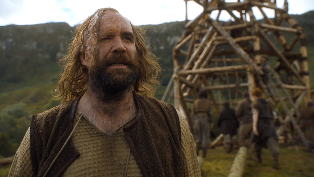 Sandor Clegane (Rory McCann) in GOT 607