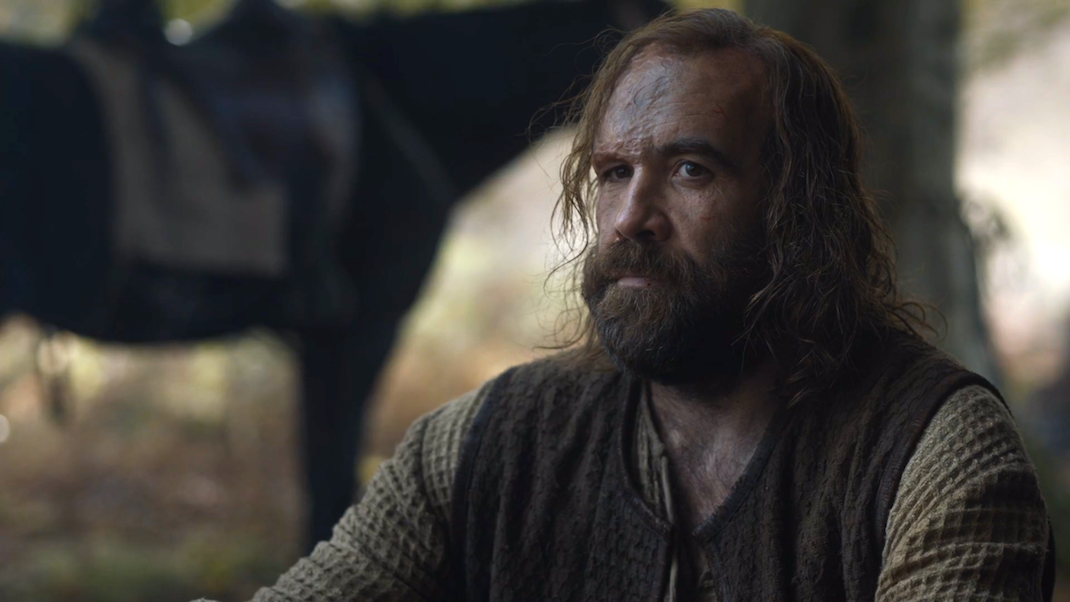 Sandor Clegane (Rory McCann) in GOT 6x08