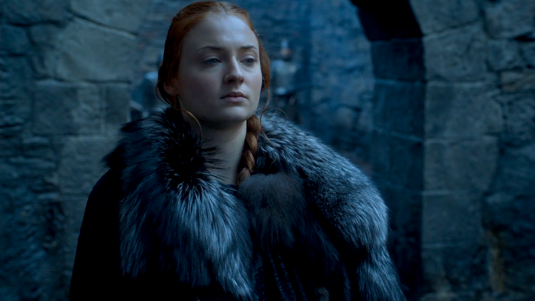 Sansa (Sophie Turner) in GOT 6x07