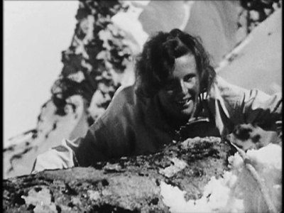 Leni Riefenstahl in The White Hell of Pitz Palu (1929)