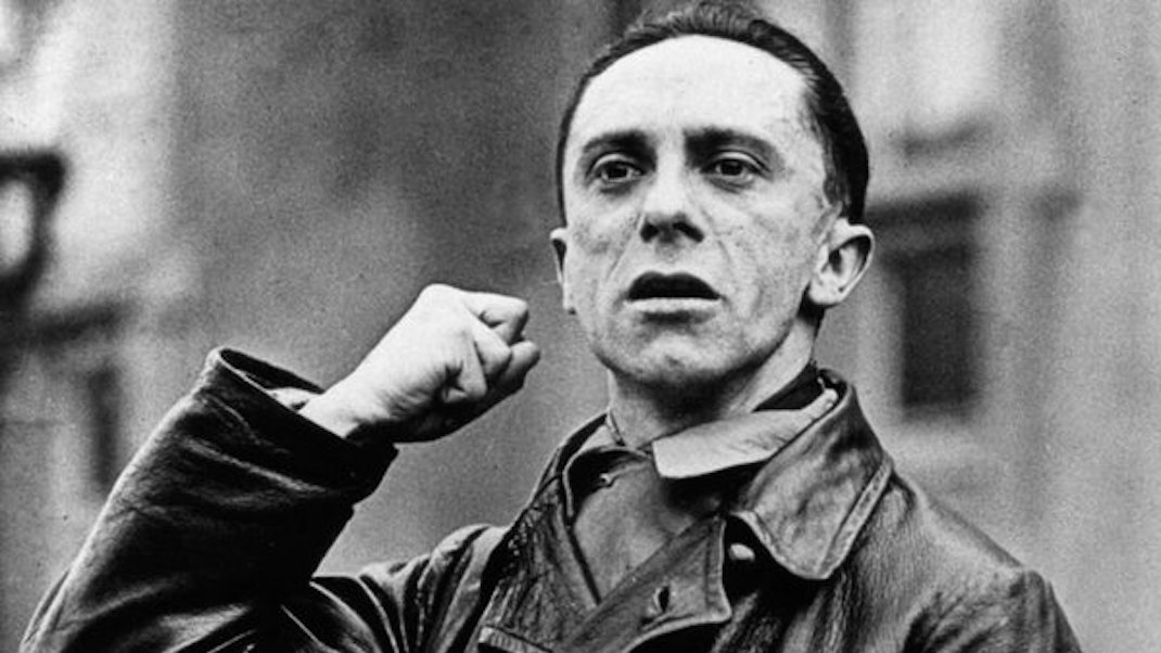 Dr. Joseph Goebbels, Reich Minister of Public Enlightenment and Propaganda