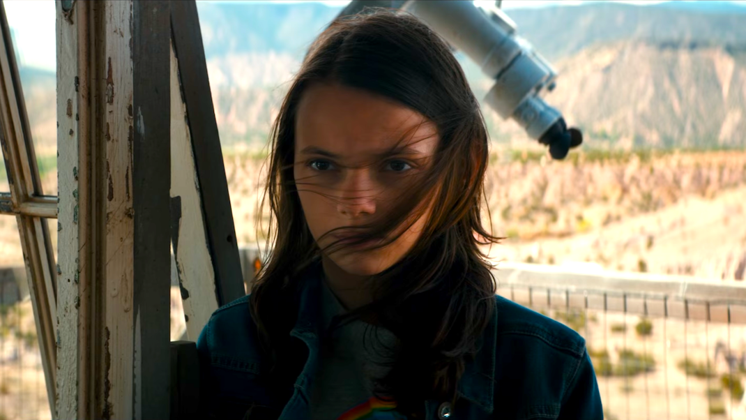 Dafne Keen in LOGAN