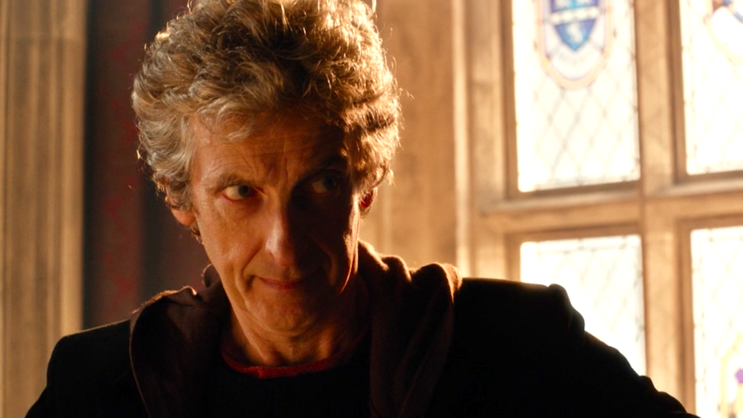 The Doctor (Peter Capaldi) in The Pilot