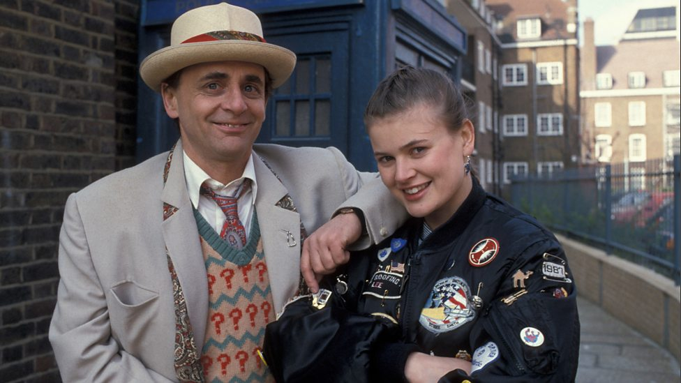 The Seventh Doctor (Sylvester McCoy) and Ace (Sophie Aldred)