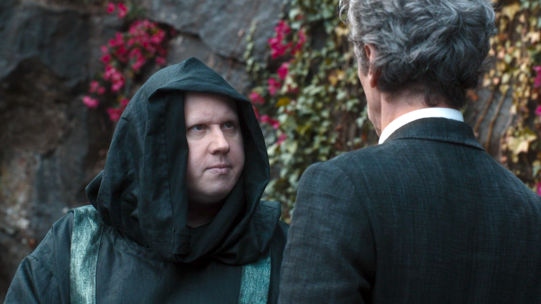 Nardole (Matt Lucas) and the Doctor (Peter Capaldi) in EXTREMIS