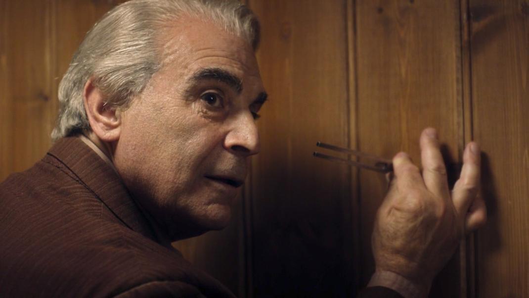 The Landlord (David Suchet) in Knock Knock