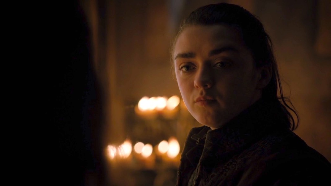 Arya (Maisie Williams) in GOT 7x01