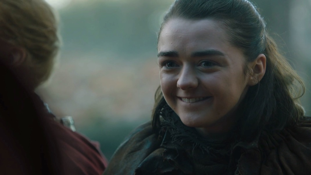 Arya Stark (Maisie Williams) in GOT 7x01