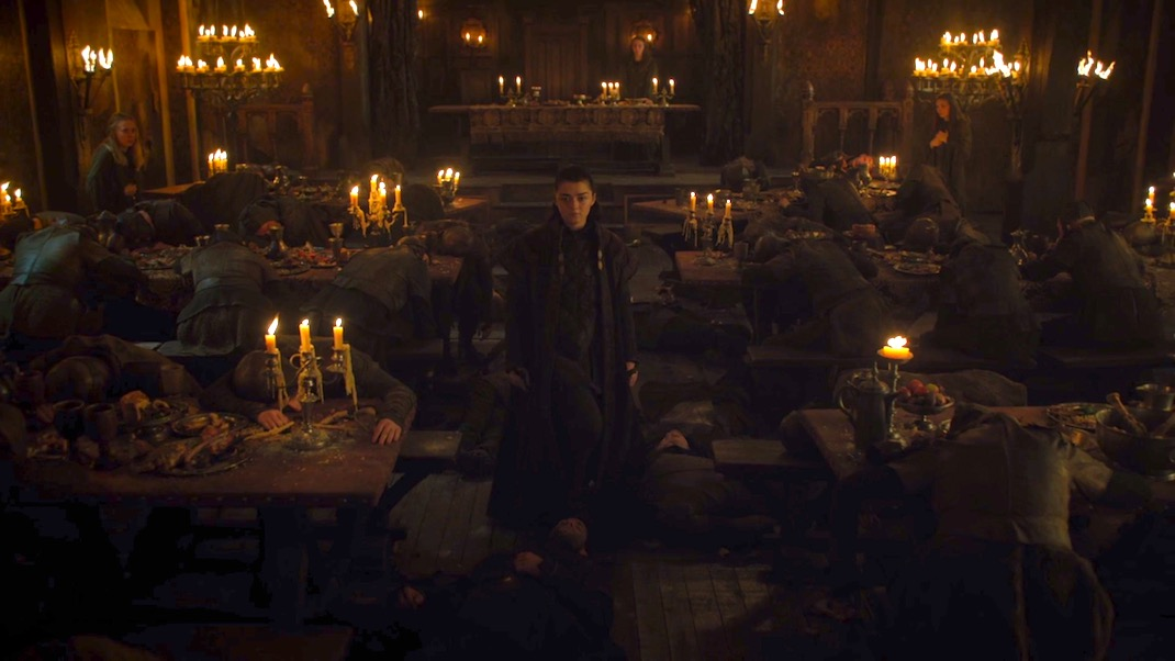 "Arya (Maisie Williams) in ""Dragonstone"""