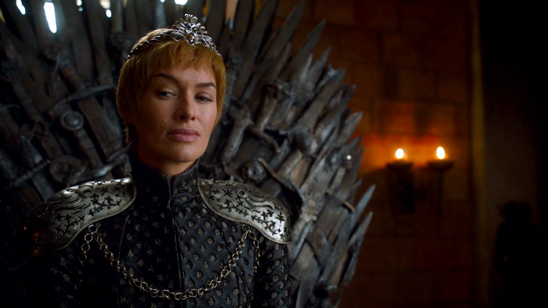 Cersei (Lena Headey) in GAME OF THRONES 7X02 - STORMBORN