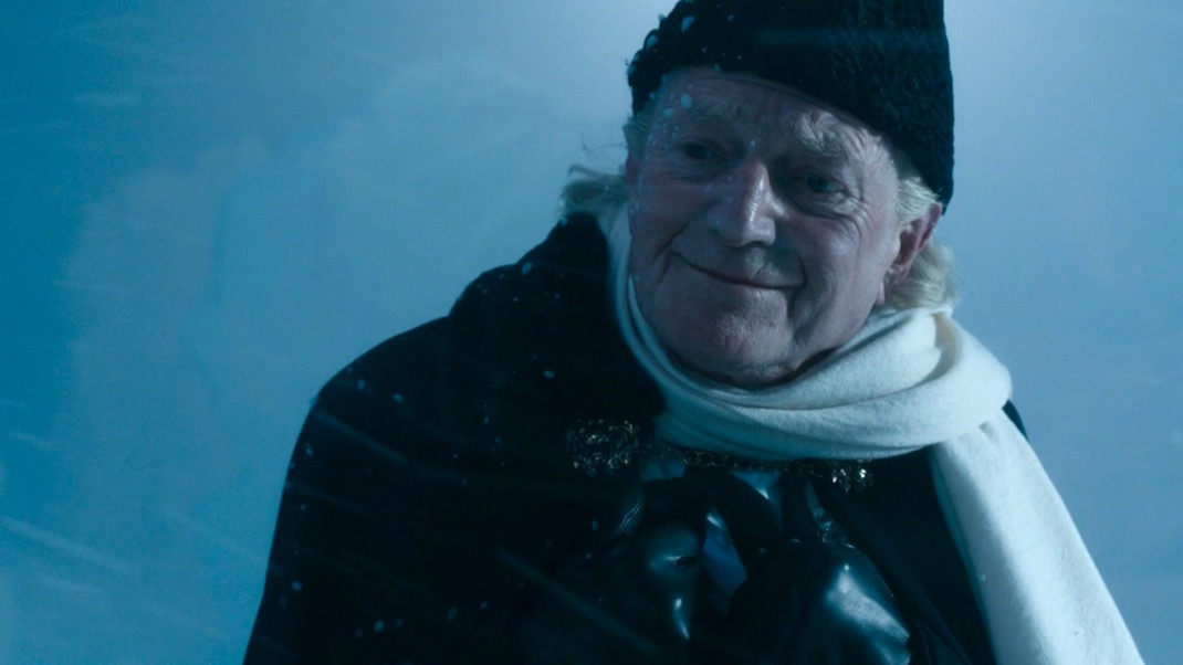 David Bradley as the First Doctor in THE DOCTOR FALLS