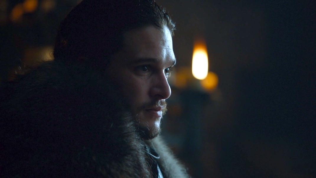 Jon Snow (Kit Harington) in GOT 7x01