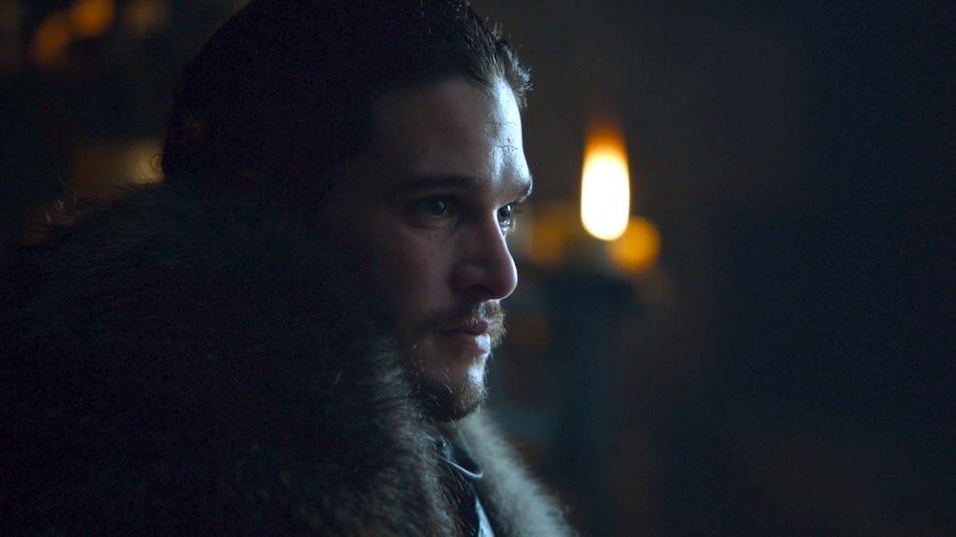 Jon Snow (Kit Harington) in GOT 7x01