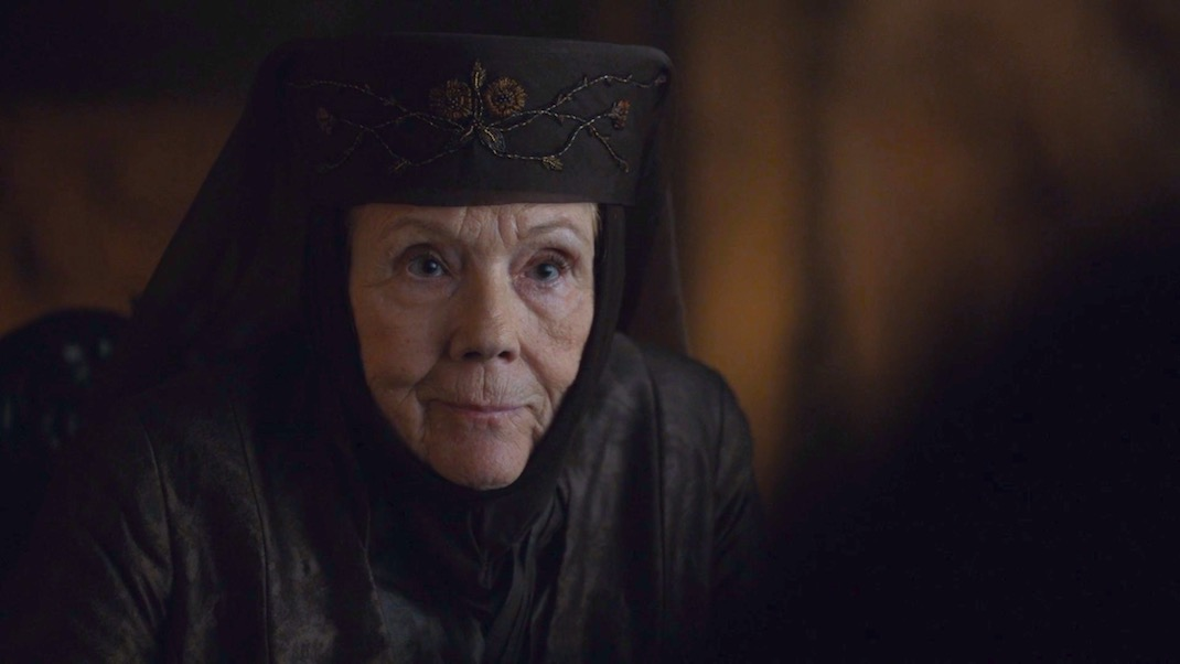 Lady Olenna (Diana Rigg) in GAME OF THRONES 7X02 - STORMBORN