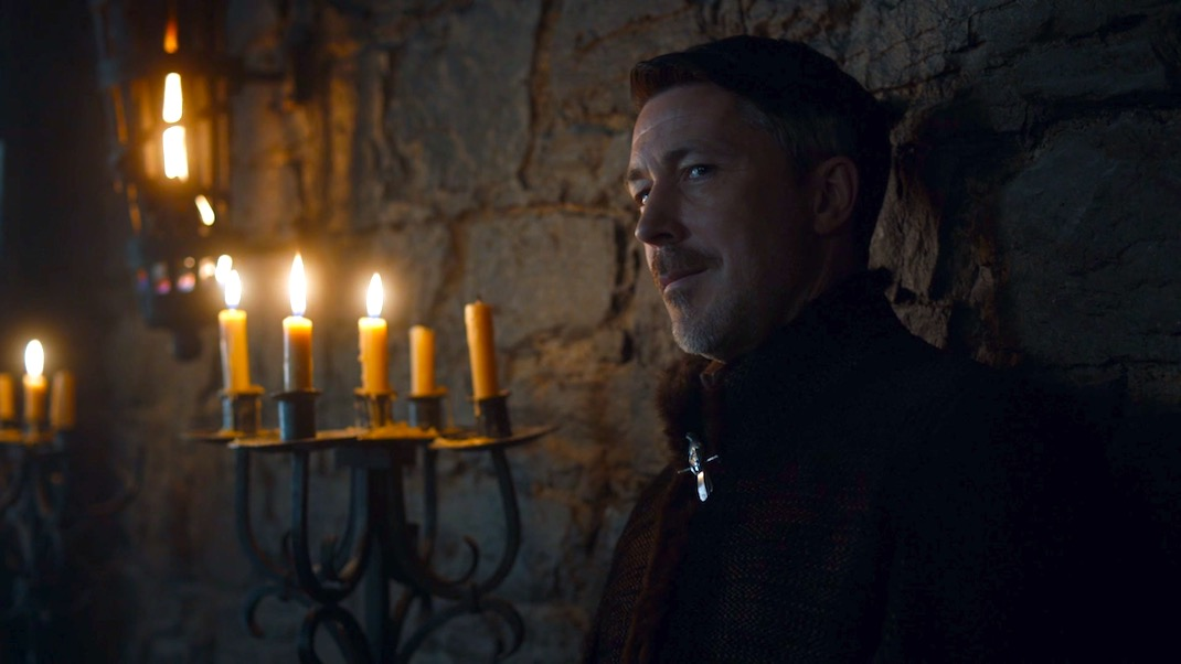 Littlefinger (Aidan Gillen) in GAME OF THRONES 7X02 - STORMBORN