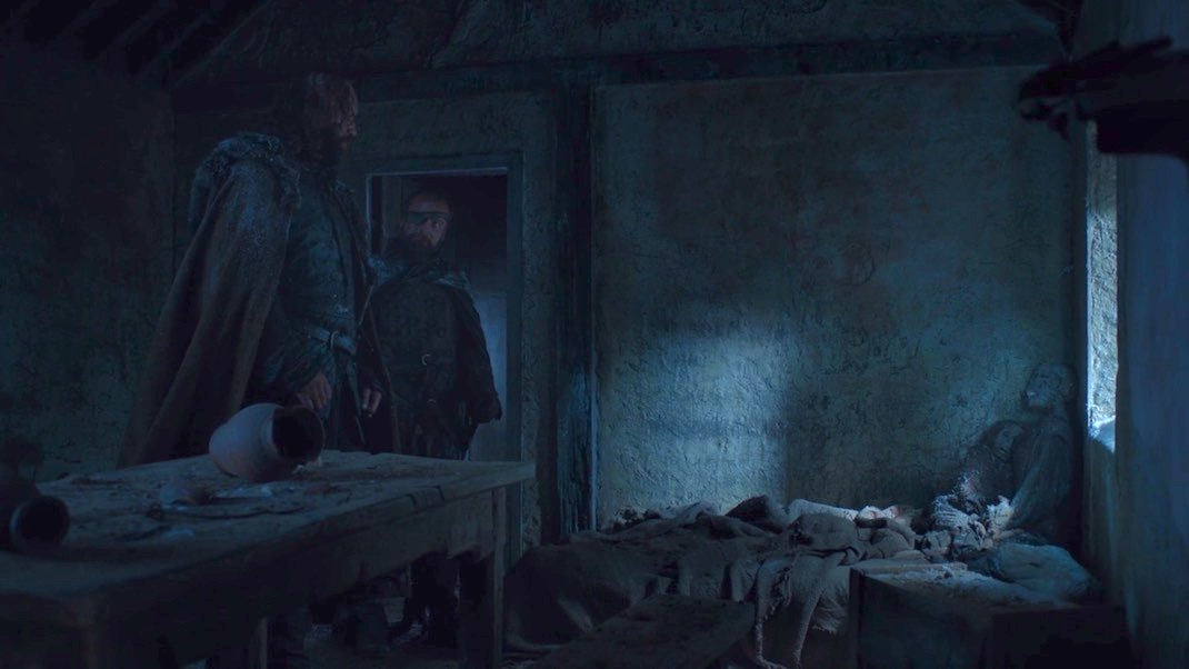 Rory McCann and Richard Dormer in GOT 7x01