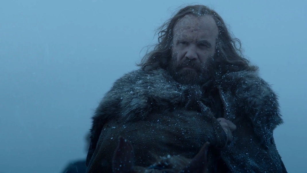 Sandor Clegane (Rory McCann) in GOT 7x01