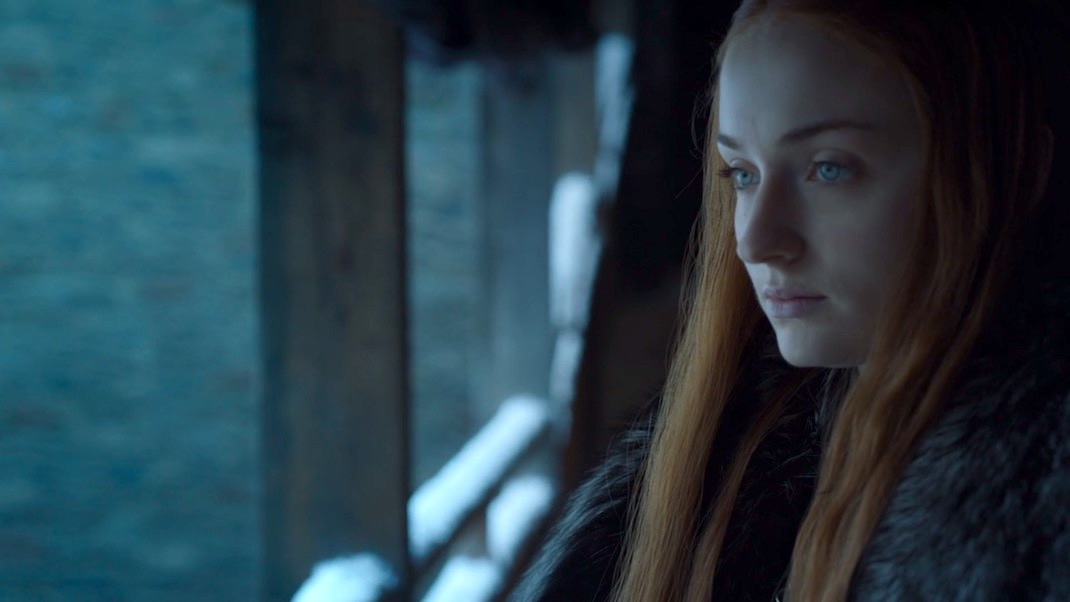 Sansa (Sophie Turner) in GOT 7x01