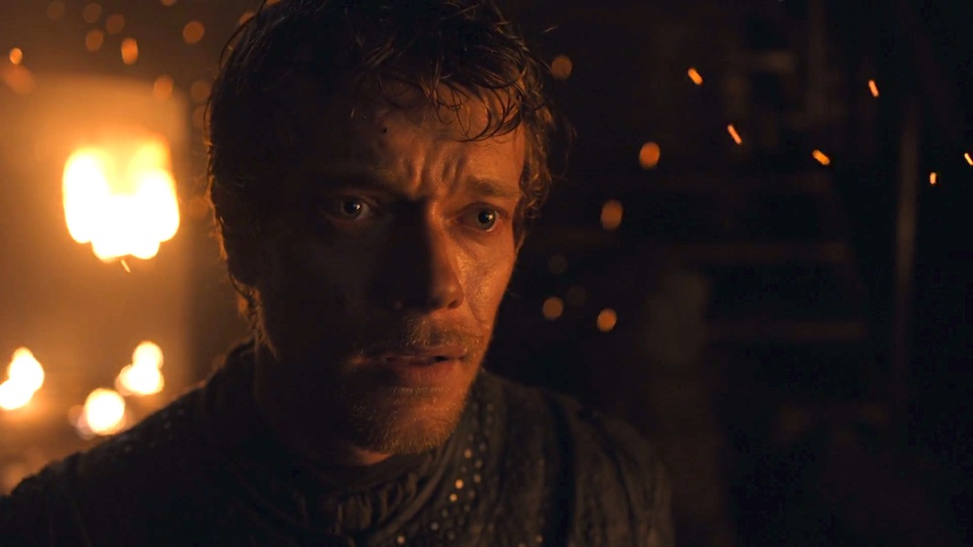 Theon (Alfie Allen) in GAME OF THRONES 7X02 - STORMBORN