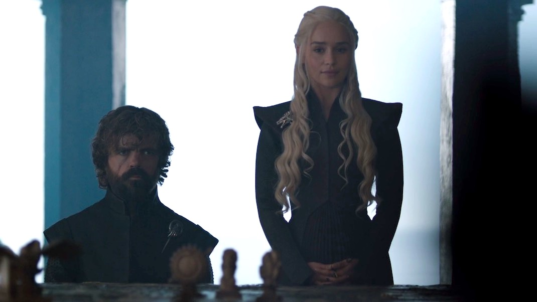Tyrion and Daenerys in GAME OF THRONES 7x02 - Stormborn