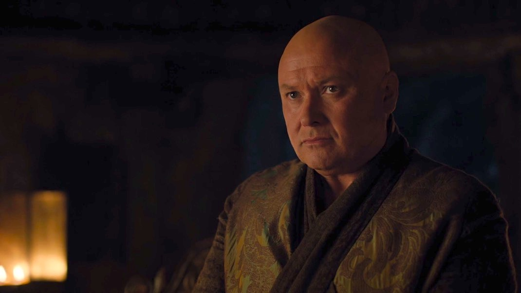 Varys (Conleth Hill) in GAME OF THRONES 7x02 - STORMBORN