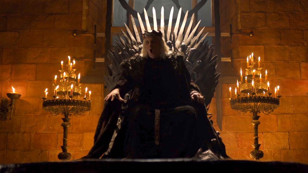 Aerys Targaryen (David Rintoul) in GOT 6x06 - Blood of My Blood