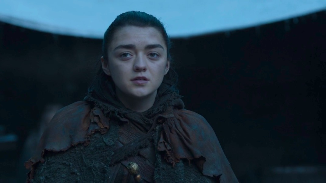 Arya Comes Home in GOT 7x04 - The Spoils of War