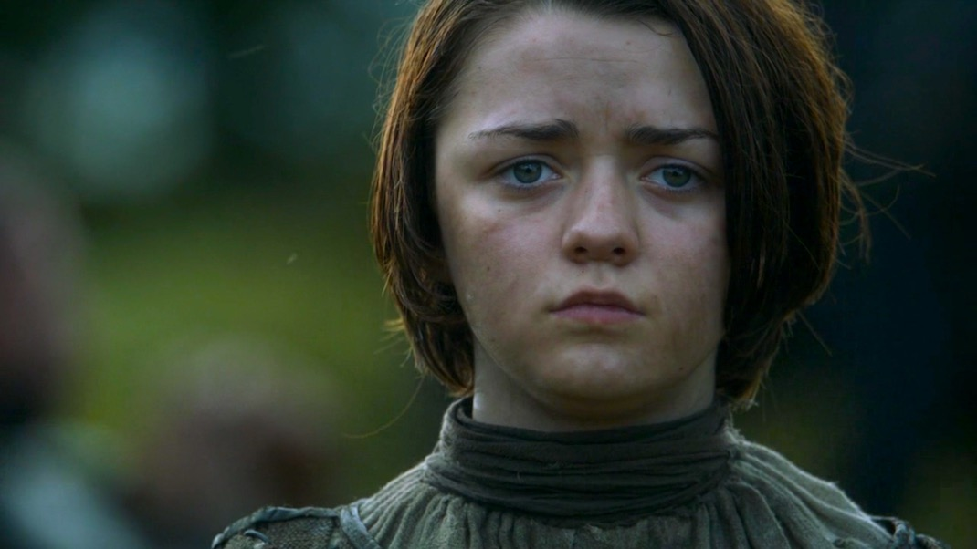 Arya Stark in GOT 3x09 - The Rains of Castamere
