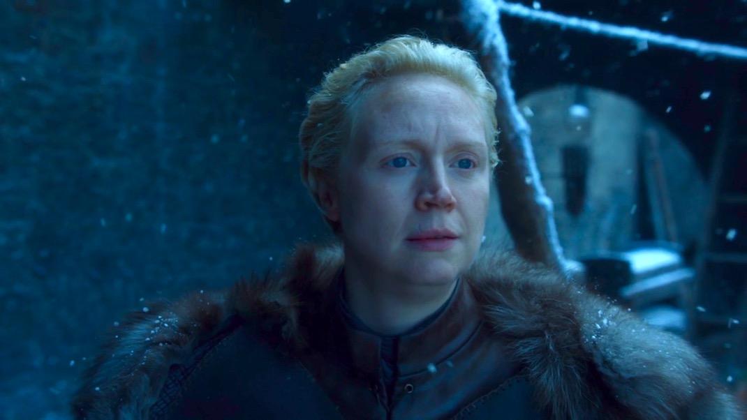 Brienne (Gwendoline Christie) in GOT 7x04 - The Spoils of War