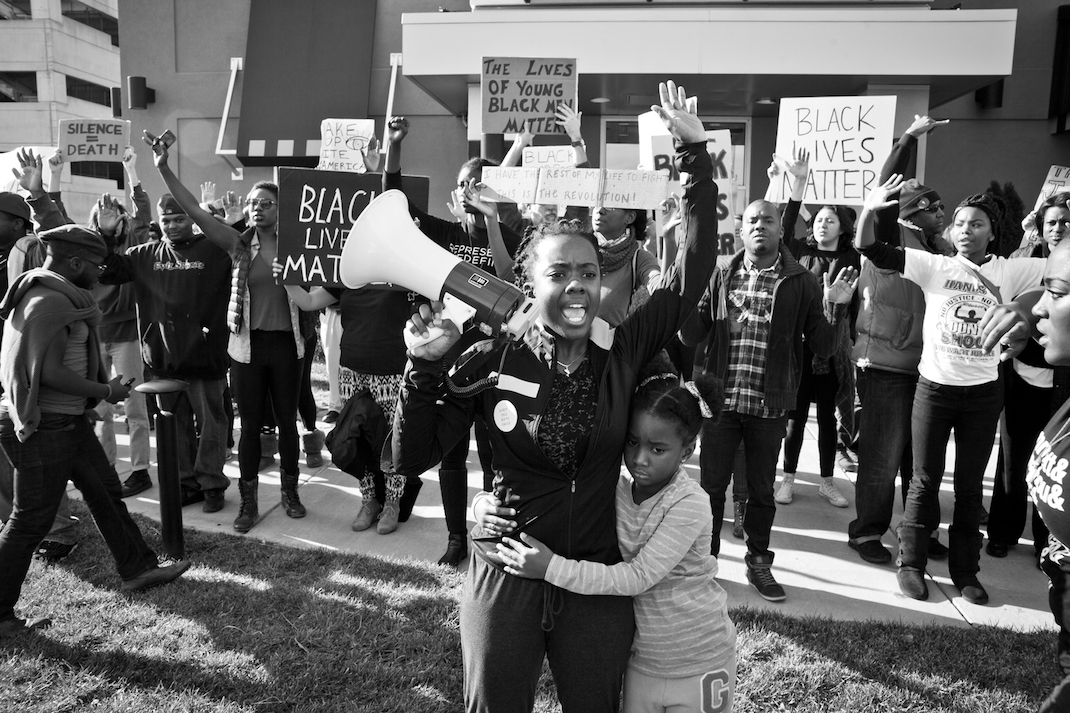 Brittany and her daughter in WHOSE STREETS
