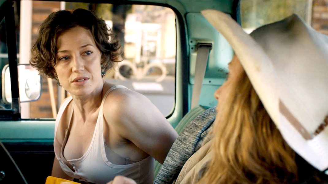 Carrie Coon and Holly Hunter in STRANGE WEATHER